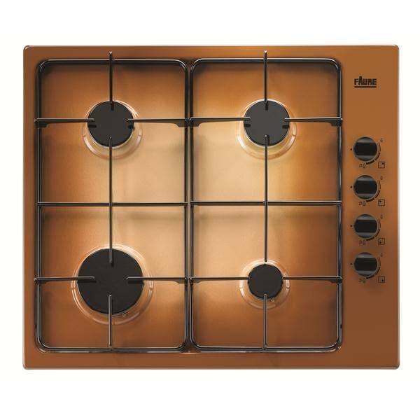 Table de cuisson 4 feux gaz faure fgg62414ta privadis - Table cuisson 2 feux gaz ...