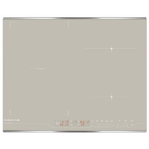 Table de cuisson 4 foyers induction de dietrich dti1047gc privadis - Table de cuisson vitroceramique de dietrich ...