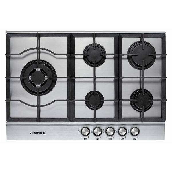 Table de cuisson gaz de dietrich dte1172x privadis - Table de cuisson gaz induction ...
