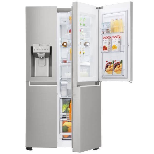 refrigerateur americain lg gss6676sc privadis. Black Bedroom Furniture Sets. Home Design Ideas