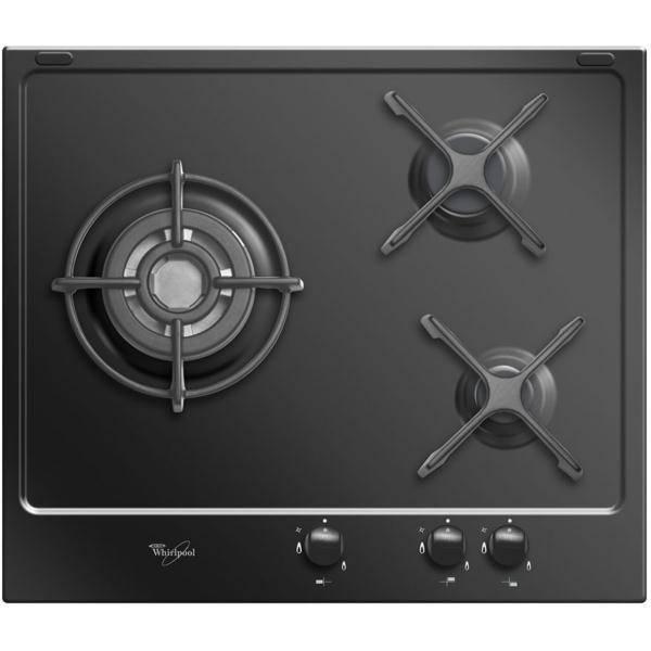 Plaque de cuisson Gaz Table de cuisson 3 feux gaz WHIRLPOOL AKT653NB 541f1f4b173a