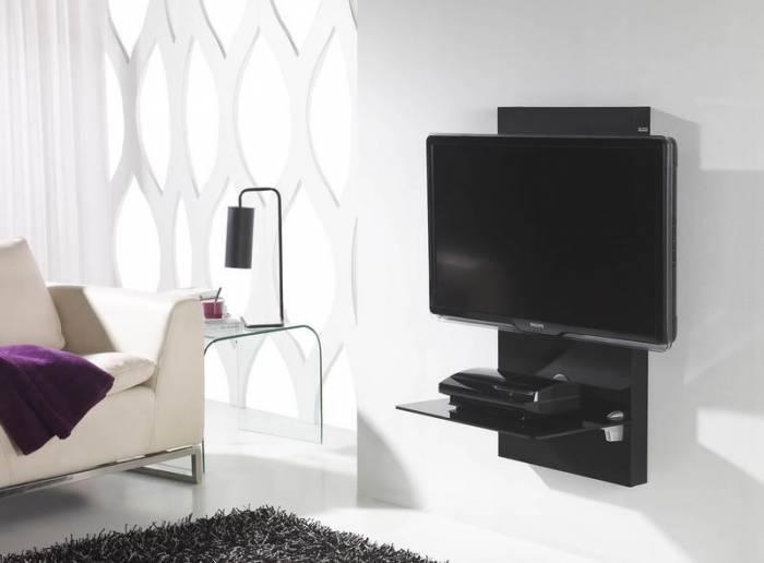 Meuble Tv Mural Pour écran Plasma Lcd Gisan Sm105ne Privadis