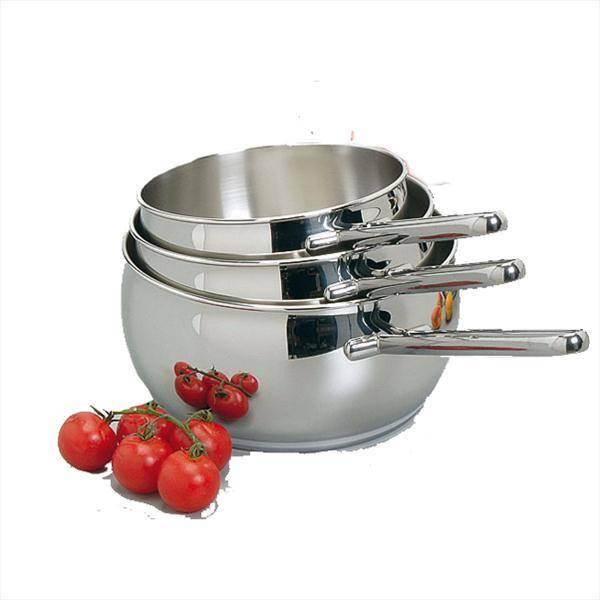 Lot 3 casseroles lagostina 012151600003 privadis - Batterie de cuisine lagostina ...