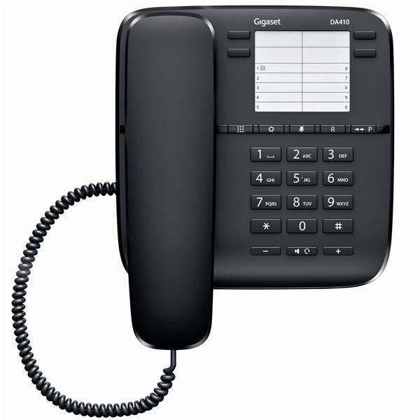 T l phone r sidentiel sans r pondeur gigaset da410 for Privadis rennes
