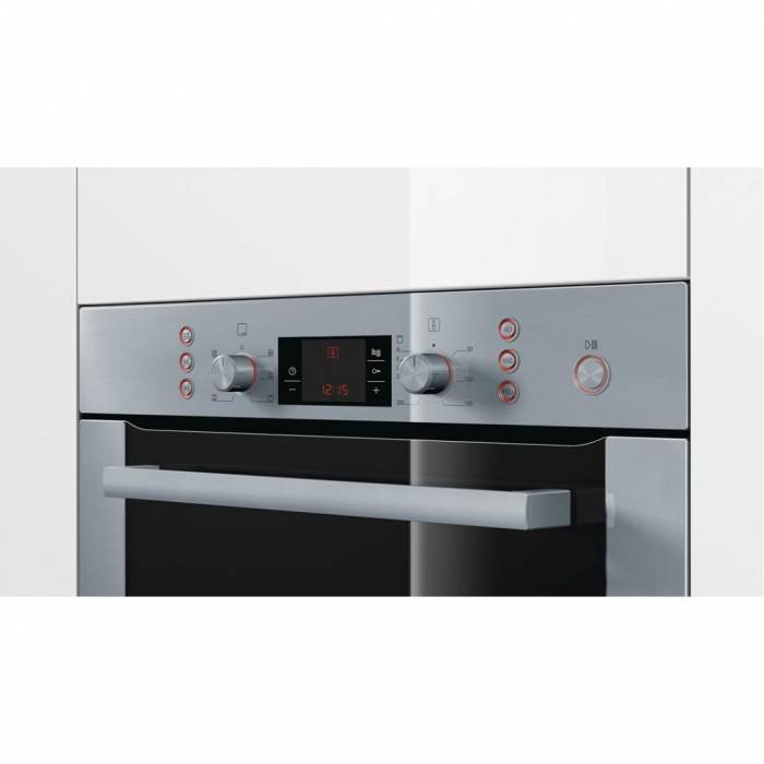 four encastrable compact avec micro ondes int gr bosch hbc84k553 privadis. Black Bedroom Furniture Sets. Home Design Ideas