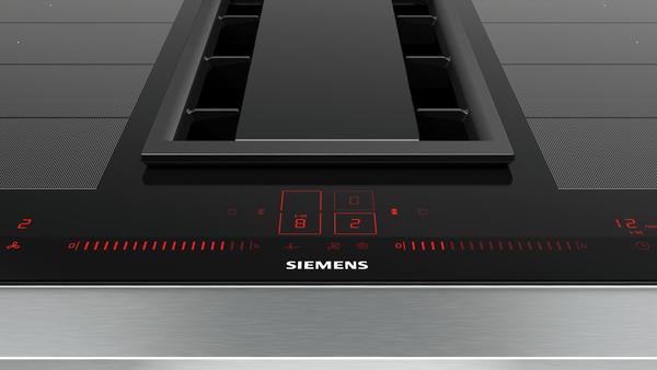Nouveaux produits efbd9 bd6ab Table de cuisson induction aspirante SIEMENS - EX875LX34E SIEMENS