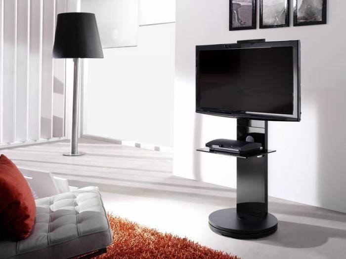 meuble tv pour cran plasma lcd gisan fs120ne privadis. Black Bedroom Furniture Sets. Home Design Ideas